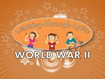 "World War II ""Learning Through Lyrics"" Lesson"