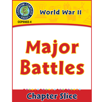 World War 2: Major Battles Gr. 5-8