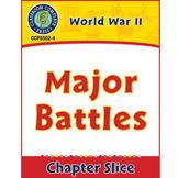 World War 2: Major Battles Gr. 5-8