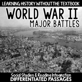 World War II: Major Battles Passages