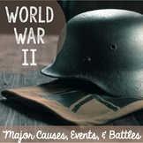 World War II: Major People, Events, and Battles
