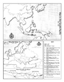 World War II Map Activity