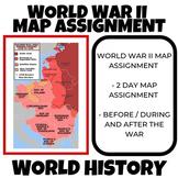 World War II Map Assignment World History