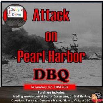 World War II – Mini DBQ: Why Did Japan Attack Pearl Harbor? (8-12)