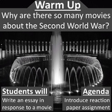 World War II Movie Reaction Paper Assignment