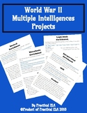 World War II Multiple Intelligences Projects ZIP file