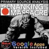 World War II Nanking Massacre/Rape of Nanking Primary Source Analysis(WW2)