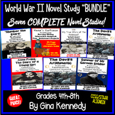 World War II Novel Study Bundle, Seven Complete WWII Literature Units!