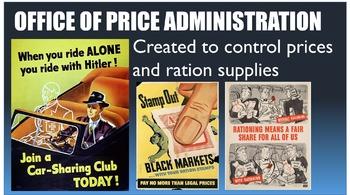 World War II: On the Homefront PowerPoint
