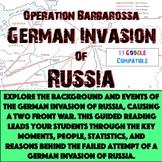 World War II - Operation Barbarossa German Invasion of Rus