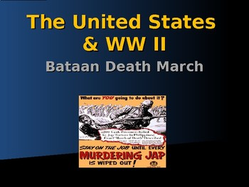 World War II - Pacific Theater - Bataan Death March