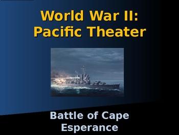 World War II - Pacific Theater - Battle of Cape Esperance