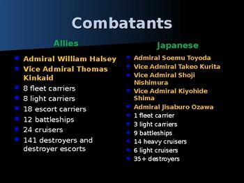 World War II - Pacific Theater - Battle of Leyte Gulf