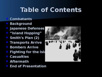 World War II - Pacific Theater - Battle of Makin
