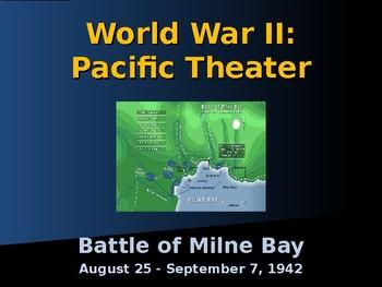 World War II - Pacific Theater -  Battle of Milne Bay