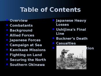 World War II - Pacific Theater - Battle of Okinawa