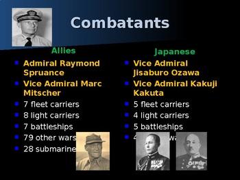 World War II - Pacific Theater - Battle of the Philippine Sea