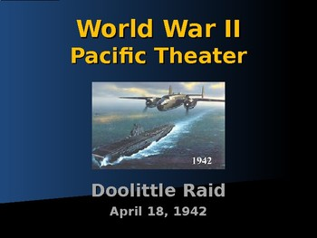 World War II - Pacific Theater - Doolittle Raid