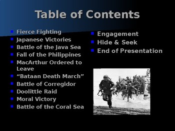 World War II - Pacific Theater - Early Japanese Victories