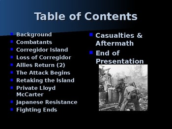 World War II - Pacific Theater - Liberation of Corregidor