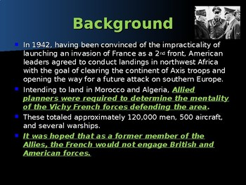 World War II - Pacific Theater - Naval Battle of Casablanca