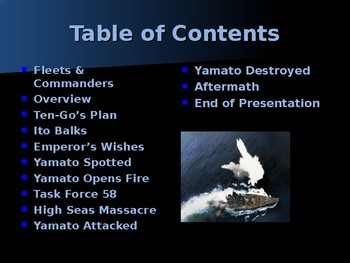 World War II - Pacific Theater - Operation Ten-Go