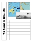 World War II Pacific Theater Printable Activity Worksheet
