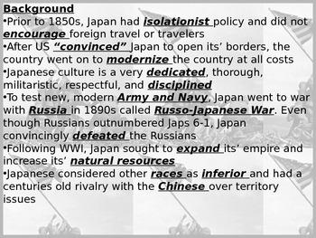 World War II: Pacific Theater powerpoint