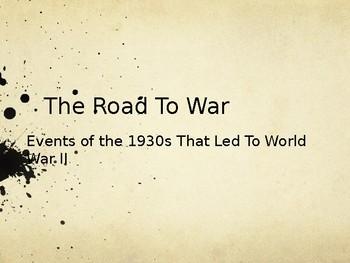 World War II - Part 1: Causes