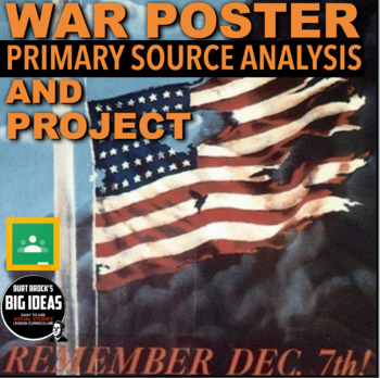 World War II Poster Analysis and Project (WW2)