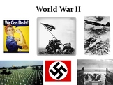 World War II PowerPoint and Guided Notes Sheet