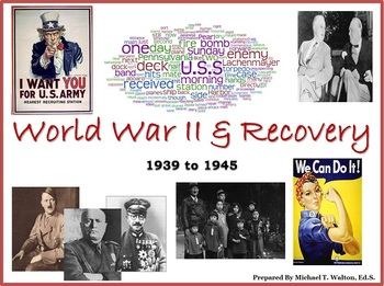 World War II PowerPoint Unit for US History 1865 to the Present