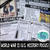 World War II PowerPoint and Guided Notes for U.S. History