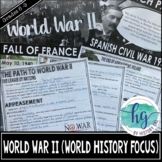 World War II PowerPoint and Guided Notes for World History