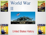 World War II Powerpoint - Bombing of Pearl Harbor to D-Day and the Atomic Bomb