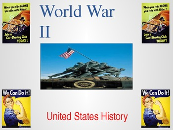 World War II Powerpoint - Bombing of Pearl Harbor to D-Day
