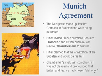 World War II Powerpoint - Dictators, Holocaust, and the United States