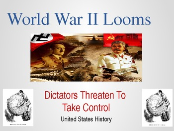 World War II Powerpoint - Dictators, Holocaust, and the Un