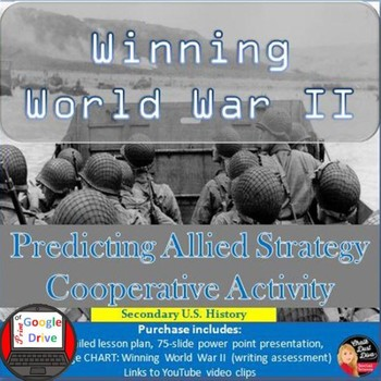 WINNING World War II: Predicting Allied Strategy Cooperative Activity