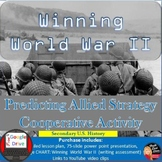 WINNING World War II: Predicting Allied Strategy Cooperative Activity
