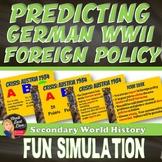World War 2  Predicting German Foreign Policy 1933-1939 (World History)