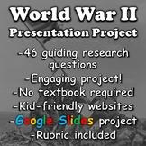 World War II Project (World War 2 Battles) | Distance Learning