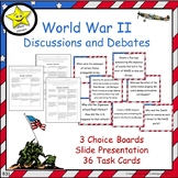 World War II Projects and Reviews