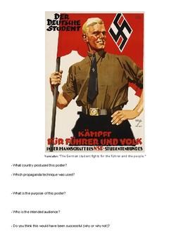 World War II Propaganda Analysis