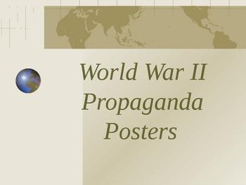World War II Propaganda Posters