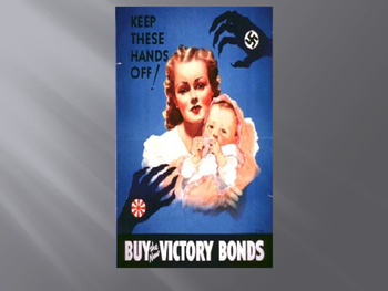 World War II Propaganda Poster Power Point