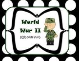 World War II {QR code activity}