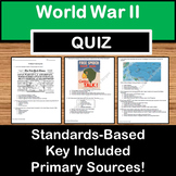 World War II Quiz - US History STAAR EOC