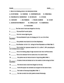World War II Quiz/Worksheet