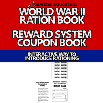 graphic relating to Ration Book Ww2 Printable identified as International War II Ration Guide Cl Benefit Approach